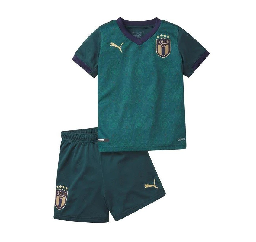 Детская домашняя форма сборной Италии 2020