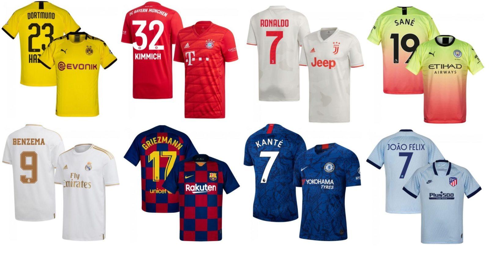 Нанесение номера, фамилии и логотипа на футбольную форму