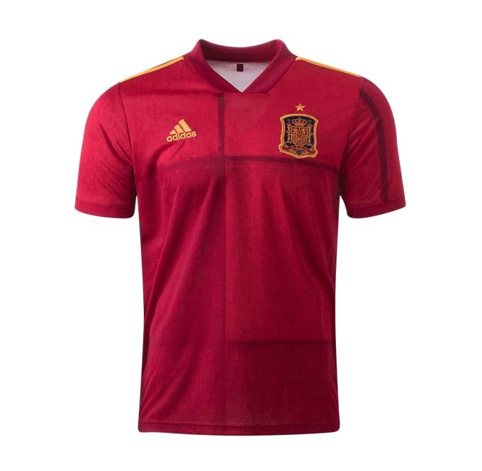 Домашняя футболка сборной Испании 2020