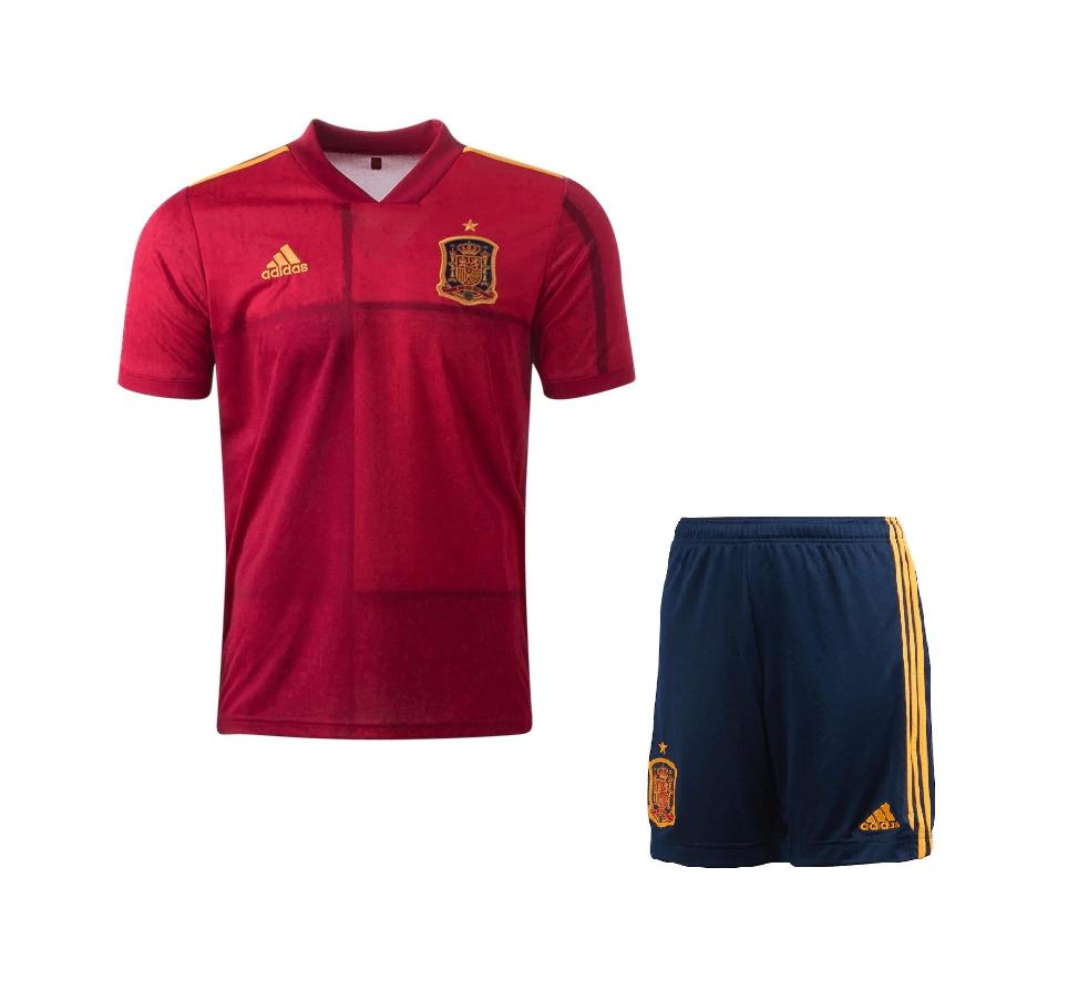 Детская домашняя форма сборной Испании 2020