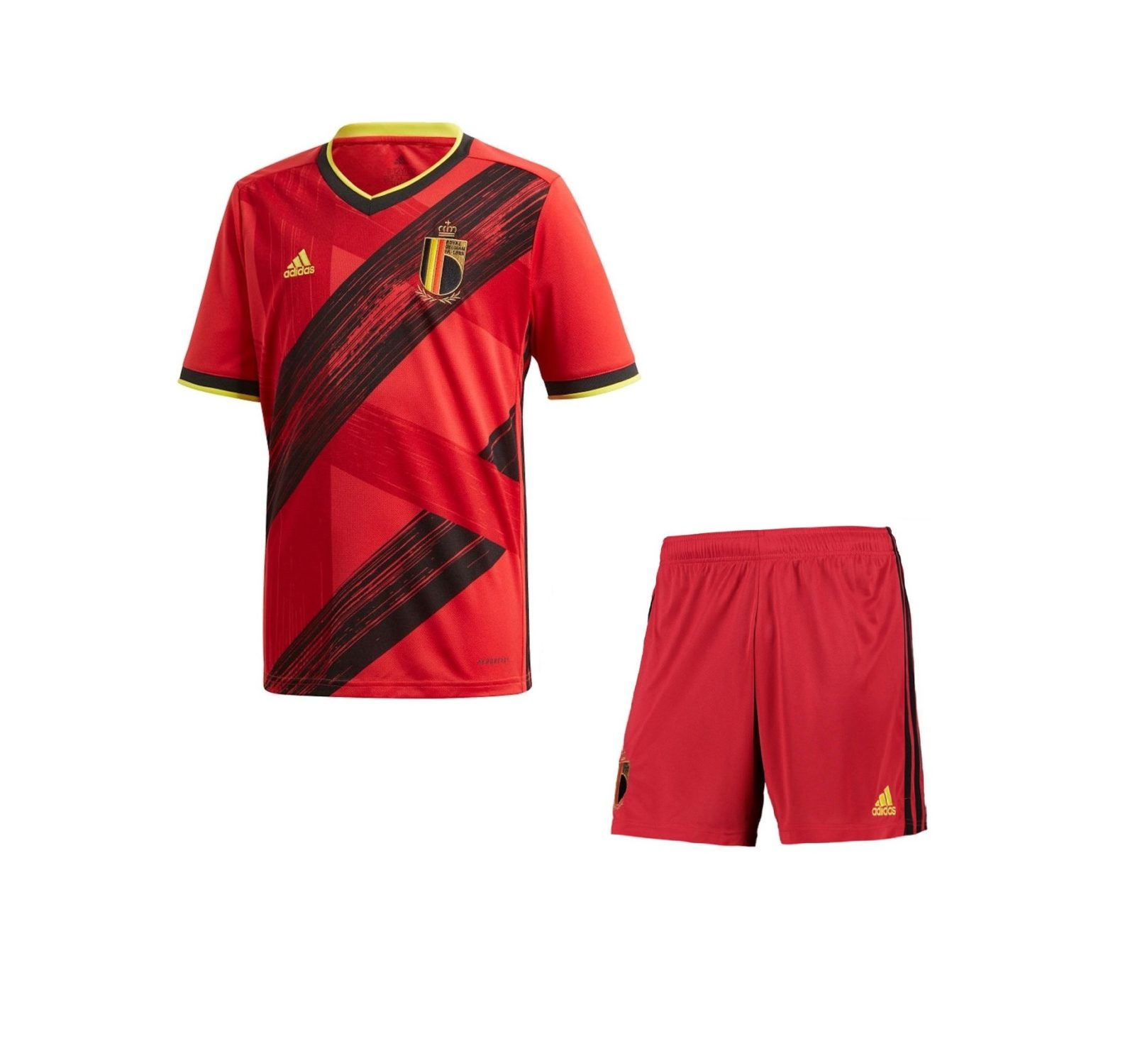 Домашняя форма сборной Бельгии 2020