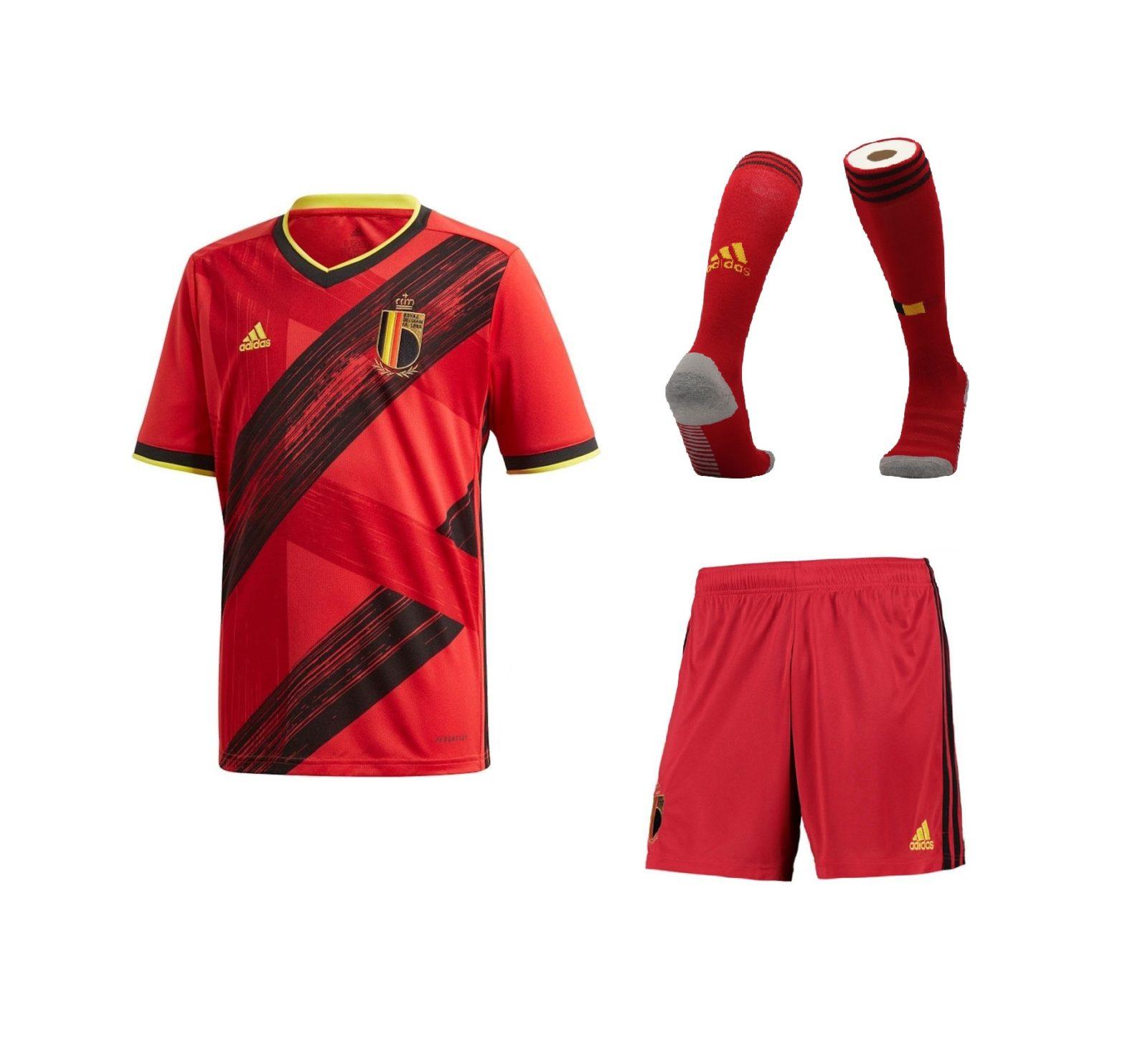Домашний комплект сборной Бельгии 2020