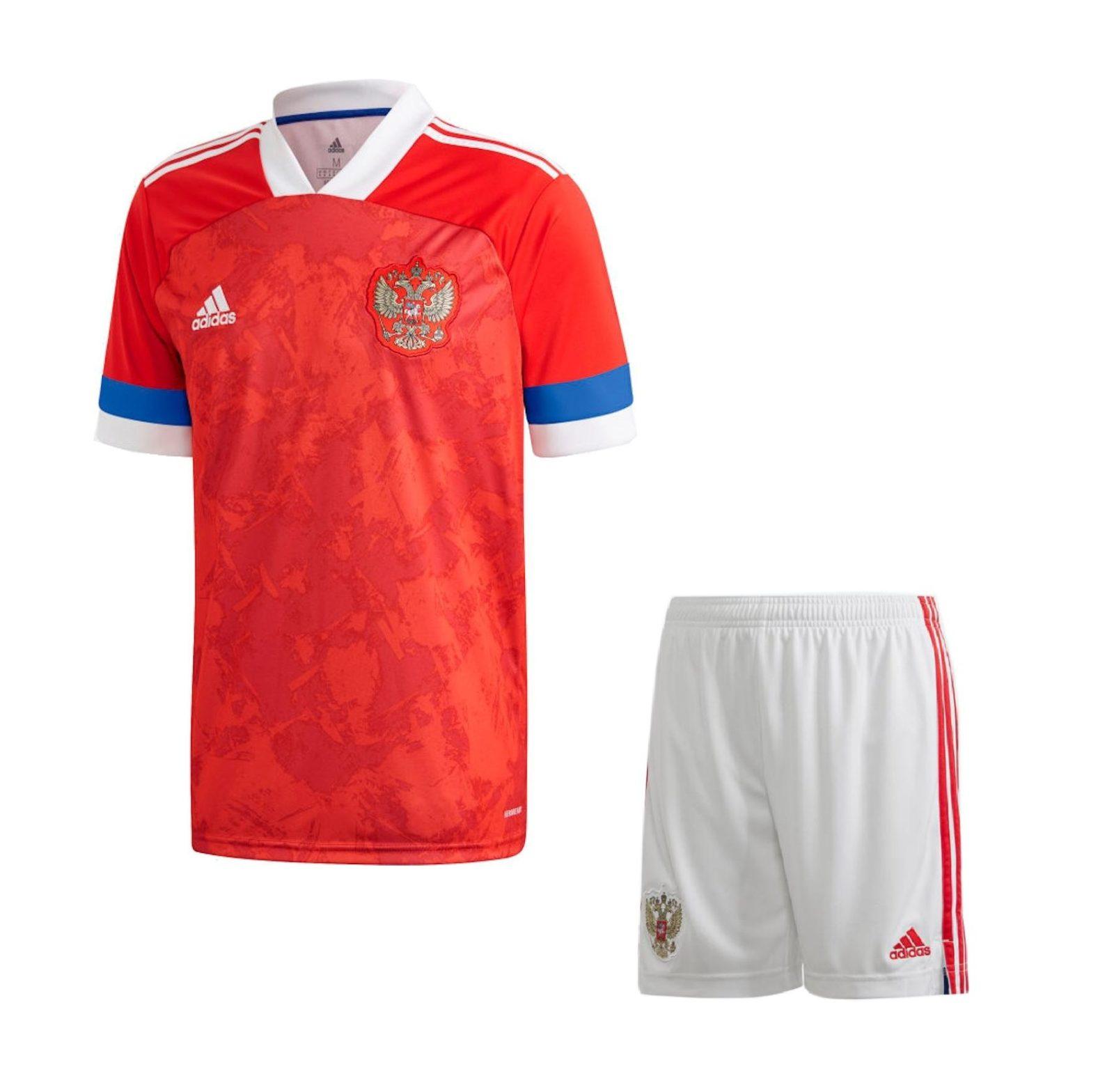 Детская домашняя форма сборной России 2020