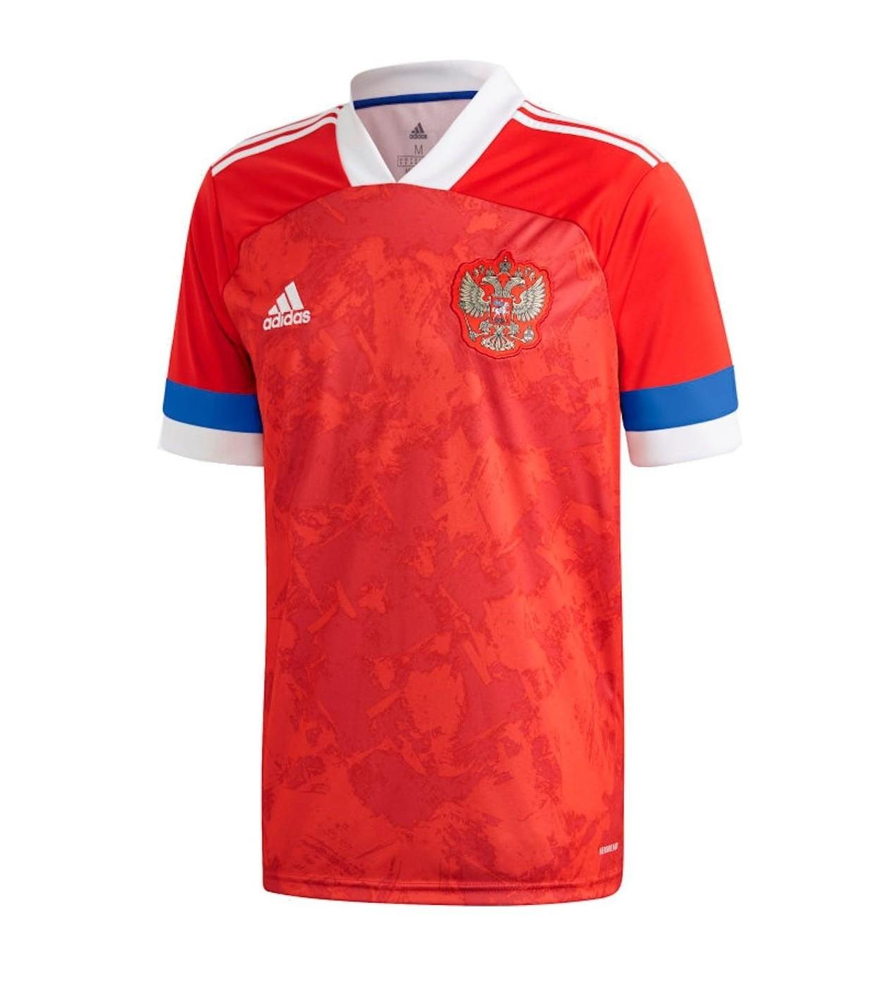Домашняя футболка сборной России 2020