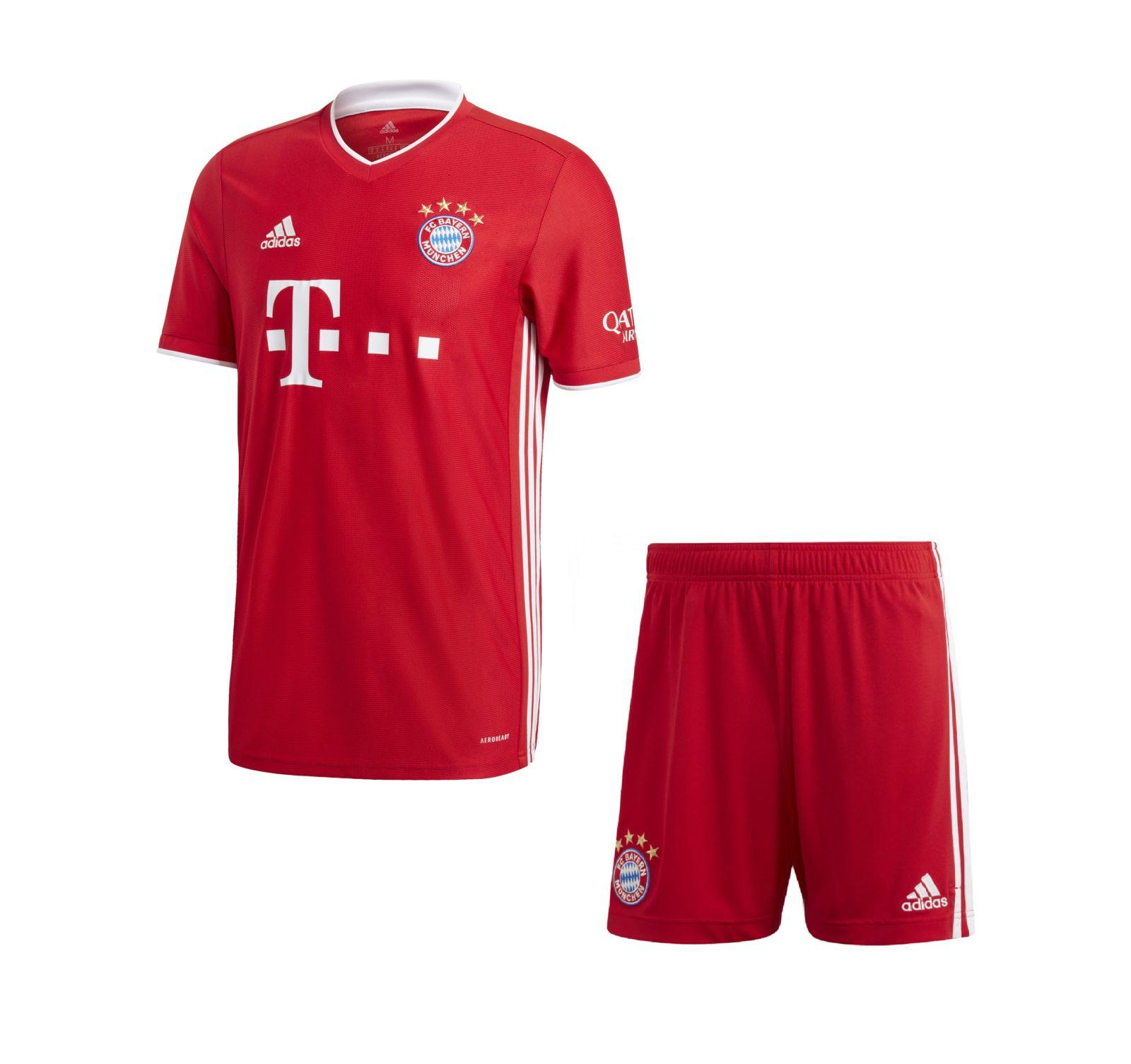 Домашняя форма Баварии Мюнхен сезон 2020-2021
