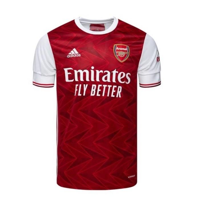 Домашняя футболка Арсенала сезон 2020-2021