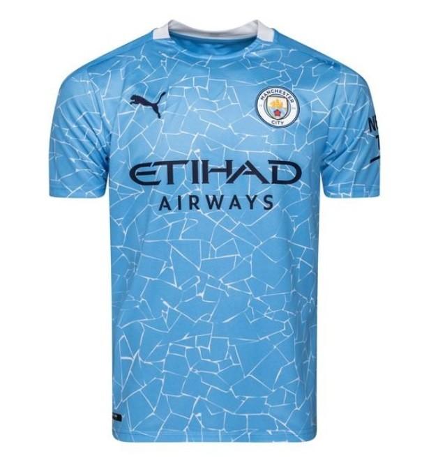 Домашняя футболка Манчестер Сити сезон 2020-2021