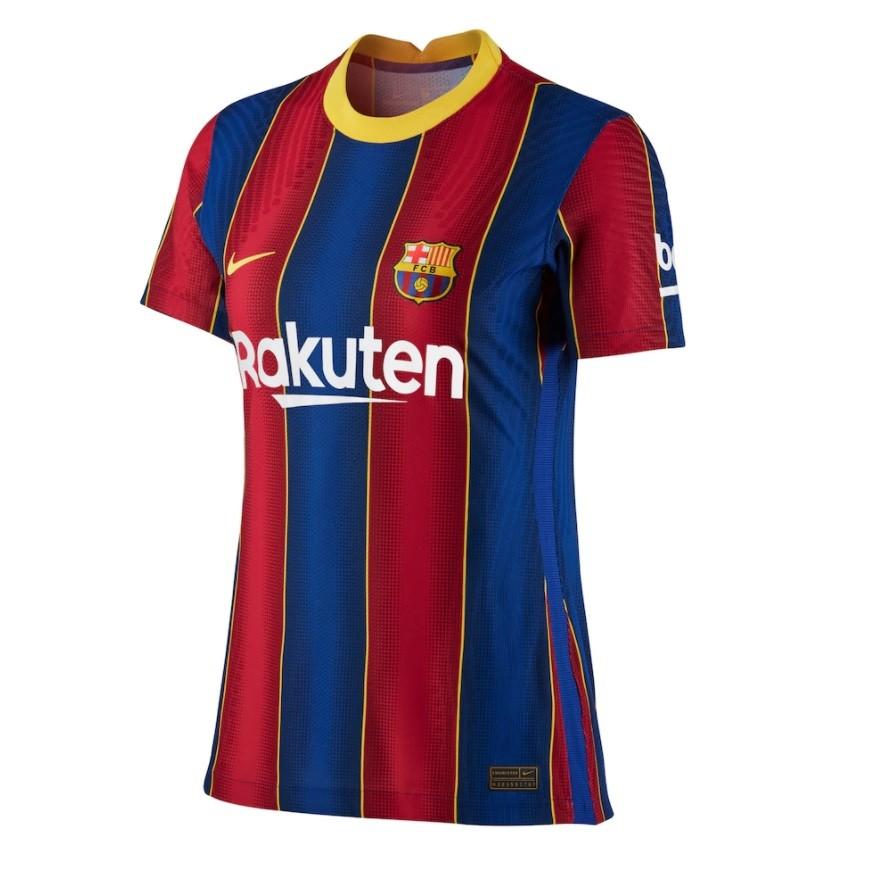 Женская домашняя футболка Барселоны сезон 2020-2021