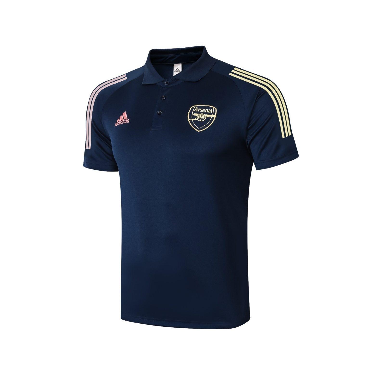 Футболка поло Арсенала сезон 2020-2021 (Синяя)