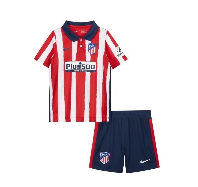 Детская домашняя форма Атлетико Мадрид сезон 2020-2021