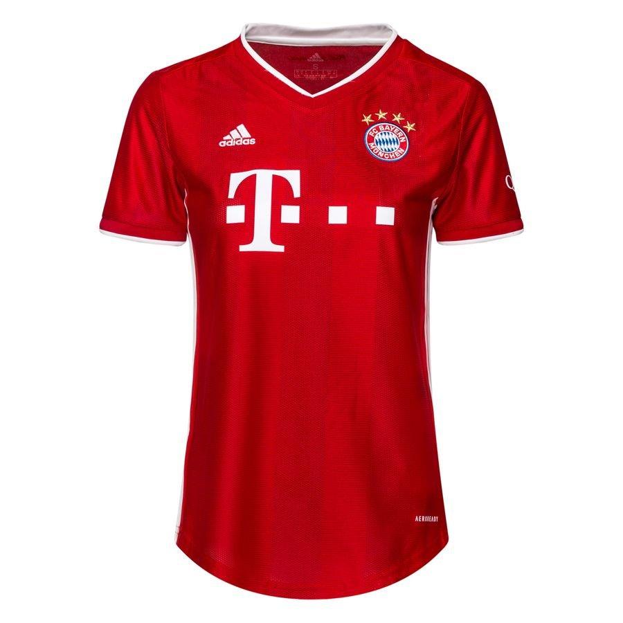 Женская домашняя футболка Баварии Мюнхен сезон 2020-2021