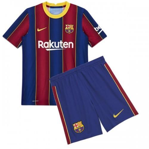 Детская домашняя форма Барселоны сезон 2020-2021