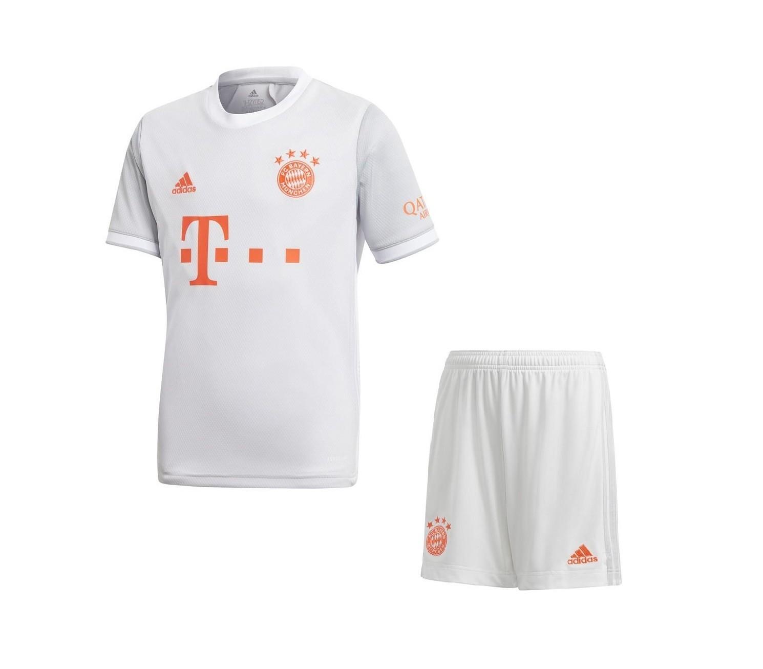 Детская выездная форма Баварии Мюнхен сезон 2020-2021