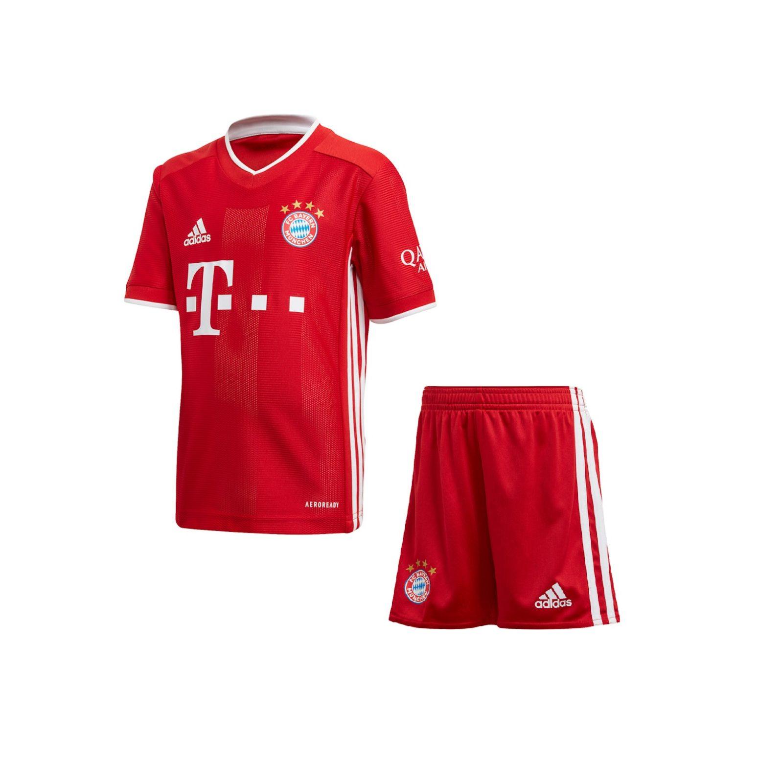 Детская домашняя форма Баварии Мюнхен сезон 2020-2021
