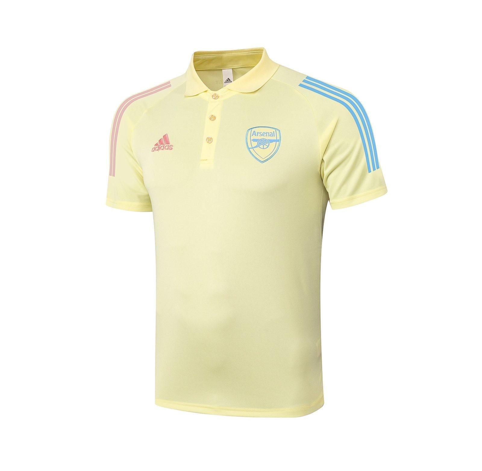 Футболка поло Арсенала сезон 2020-2021 (Жёлтая)