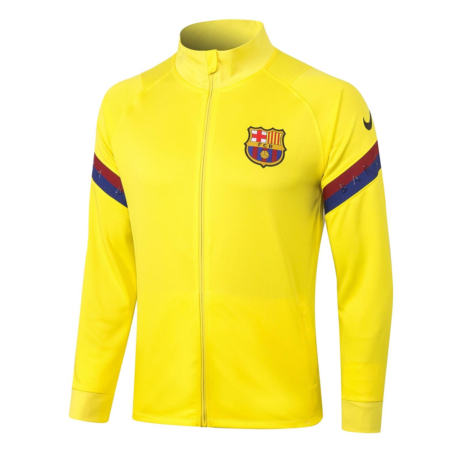 Олимпийка Барселоны сезон 2020-2021 (Жёлтая)