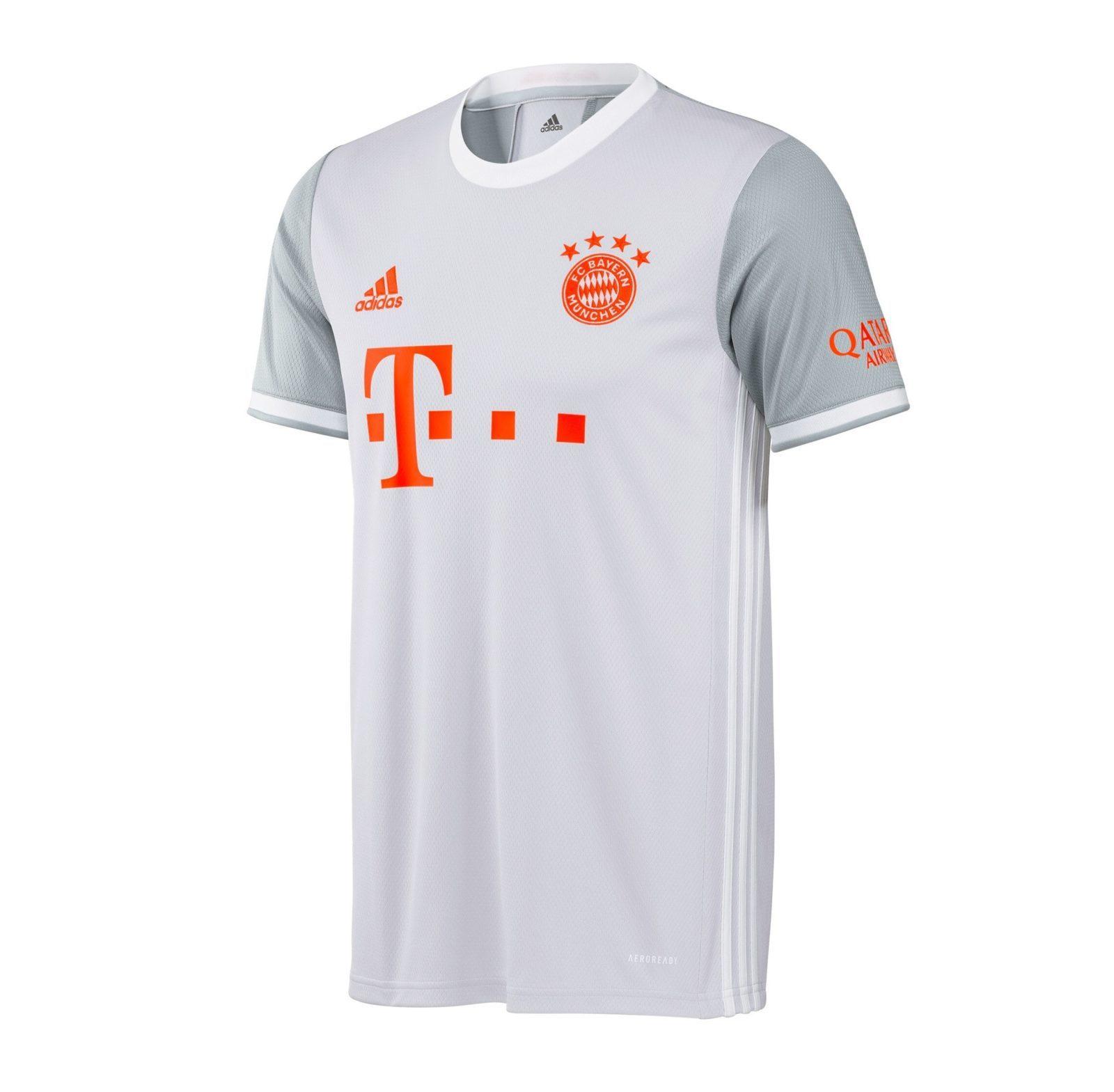 Выездная футболка Баварии Мюнхен сезон 2020-2021