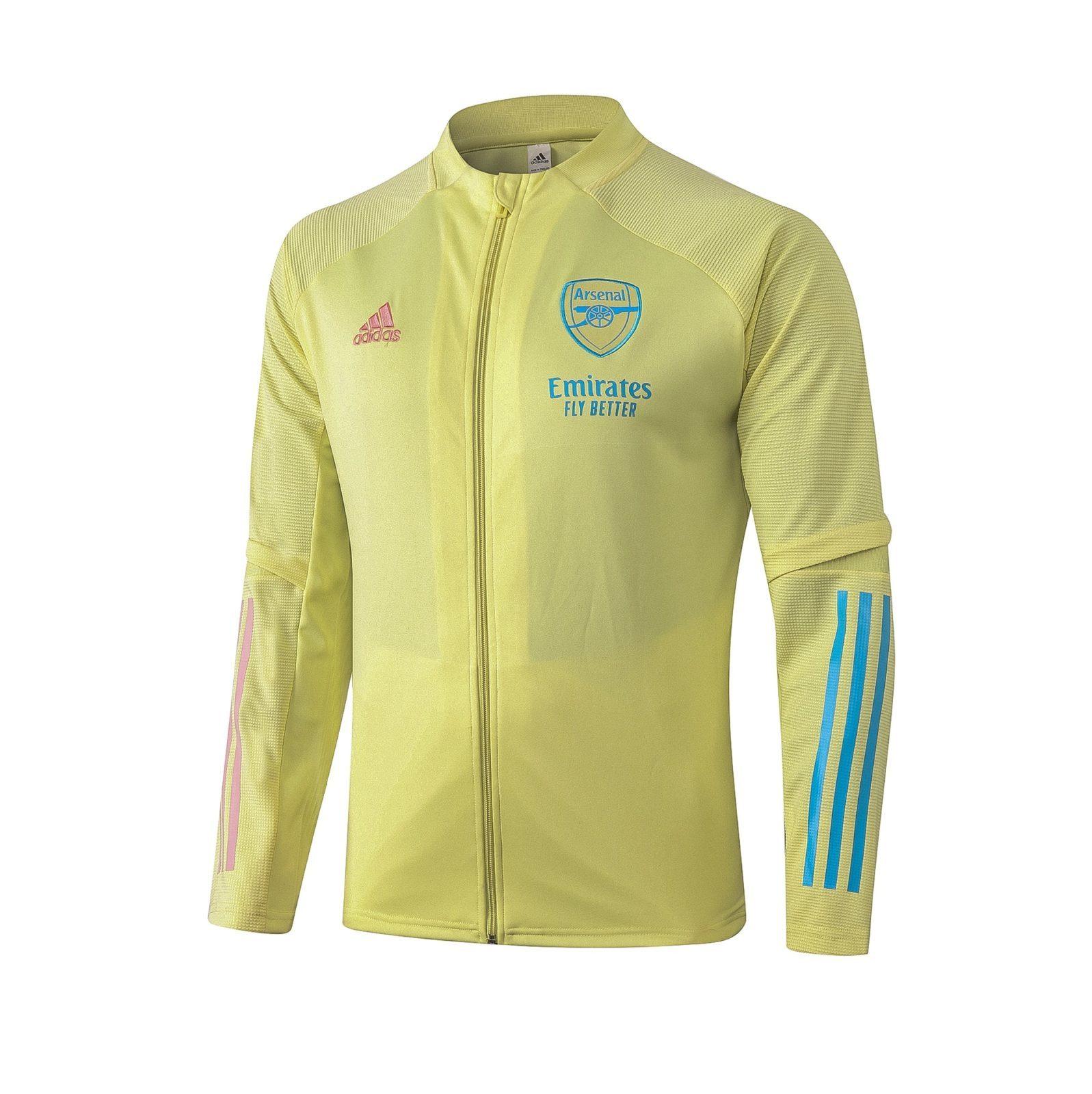 Олимпийка Арсенала сезон 2020-2021 (Жёлтая)