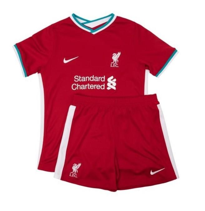 Детская домашняя форма Ливерпуля сезон 2020-2021
