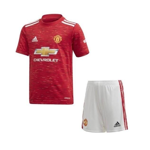 Детская домашняя форма Манчестер Юнайтед сезон 2020-2021