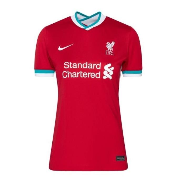 Женская домашняя футболка Ливерпуля сезон 2020-2021