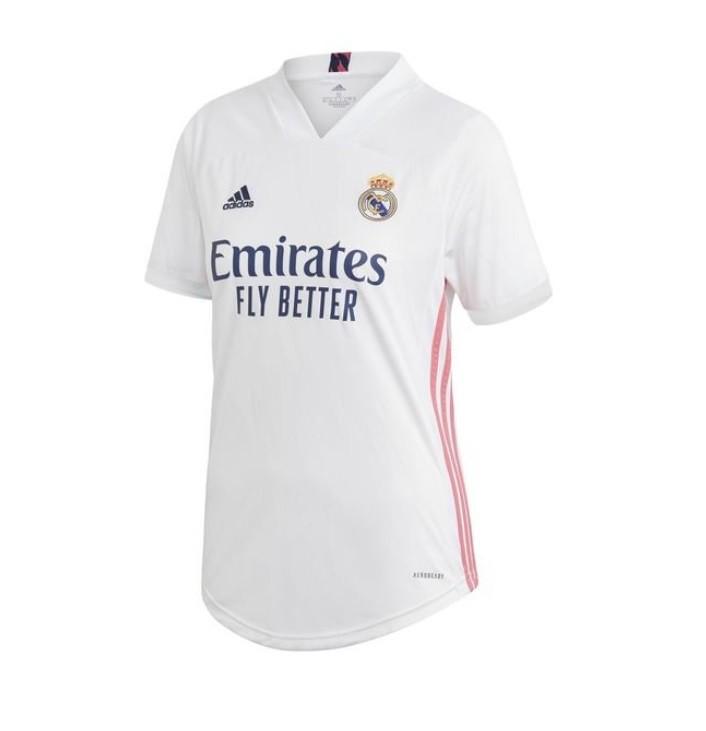 Женская домашняя футболка Реал Мадрид сезон 2020-2021