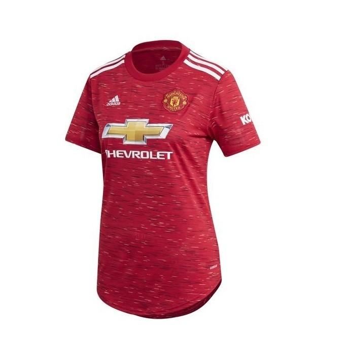 Женская домашняя футболка Манчестер Юнайтед сезон 2020-2021