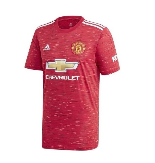 Домашняя футболка Манчестер Юнайтед сезон 2020-2021