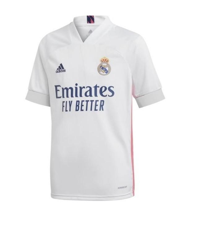Домашняя футболка Реал Мадрид сезон 2020-2021