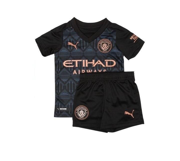 Детская выездная форма Манчестер Сити сезон 2020-2021