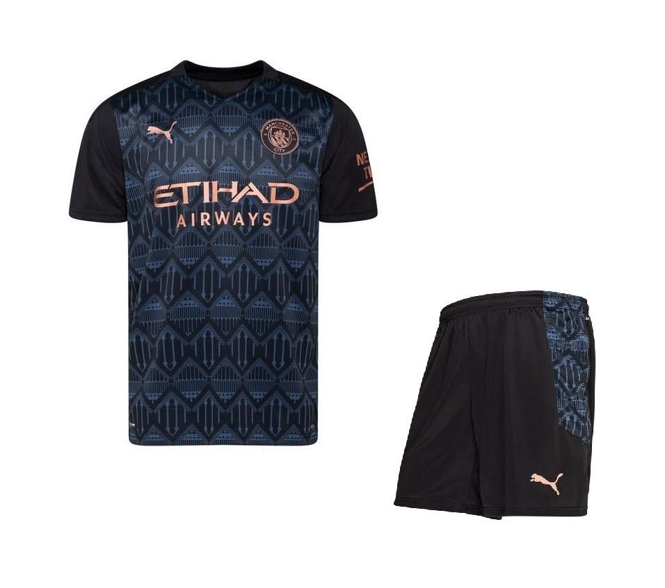 Выездная форма Манчестер Сити сезон 2020-2021