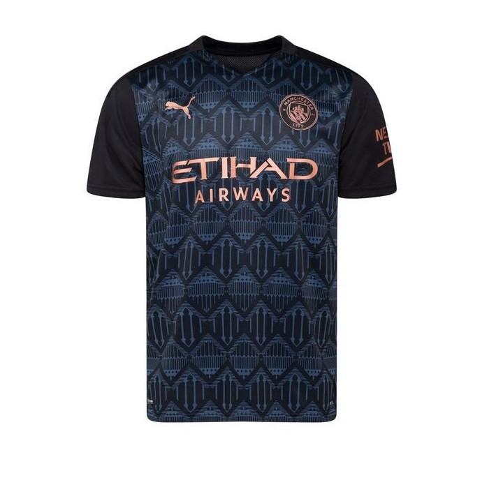 Выездная футболка Манчестер Сити сезон 2020-2021