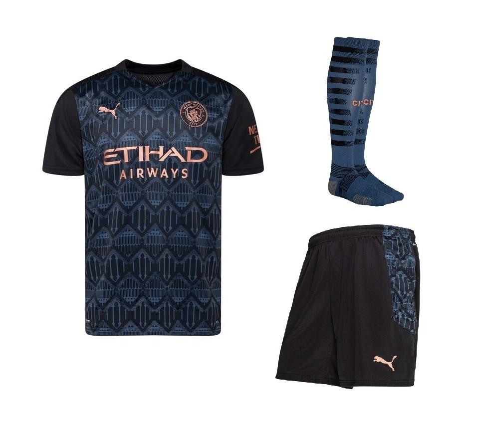 Выездной комплект Манчестер Сити сезон 2020-2021