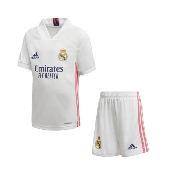 Детская домашняя форма Реал Мадрид сезон 2020-2021