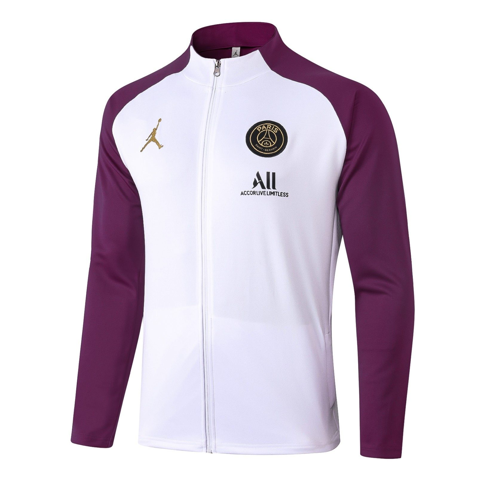 Олимпийка ПСЖ сезон 2020-2021 (Фиолетово-белая)