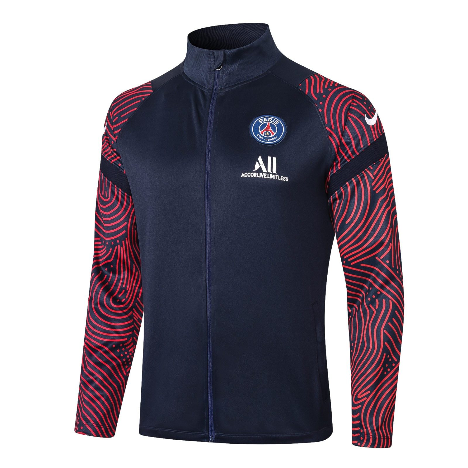 Олимпийка ПСЖ сезон 2020-2021 (Синяя)
