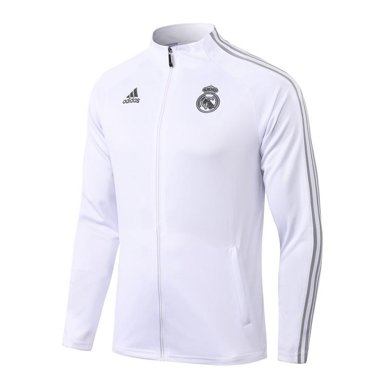 Олимпийка Реал Мадрид сезон 2020-2021 (Белая)