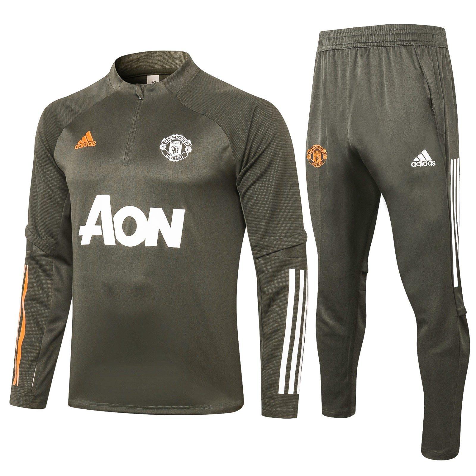 Спортивный костюм Манчестер Юнайтед сезон 2020-2021 арт.13000