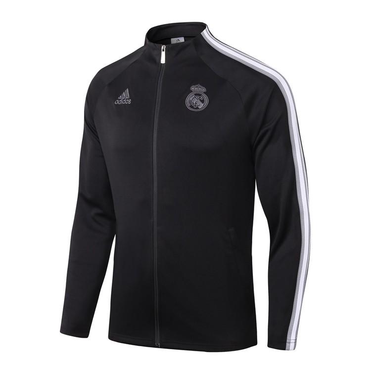 Олимпийка Реал Мадрид сезон 2020-2021 (Черная)