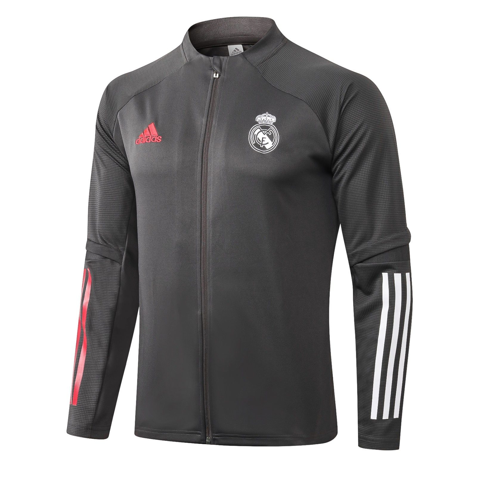 Олимпийка Реал Мадрид сезон 2020-2021 (Черная 2)