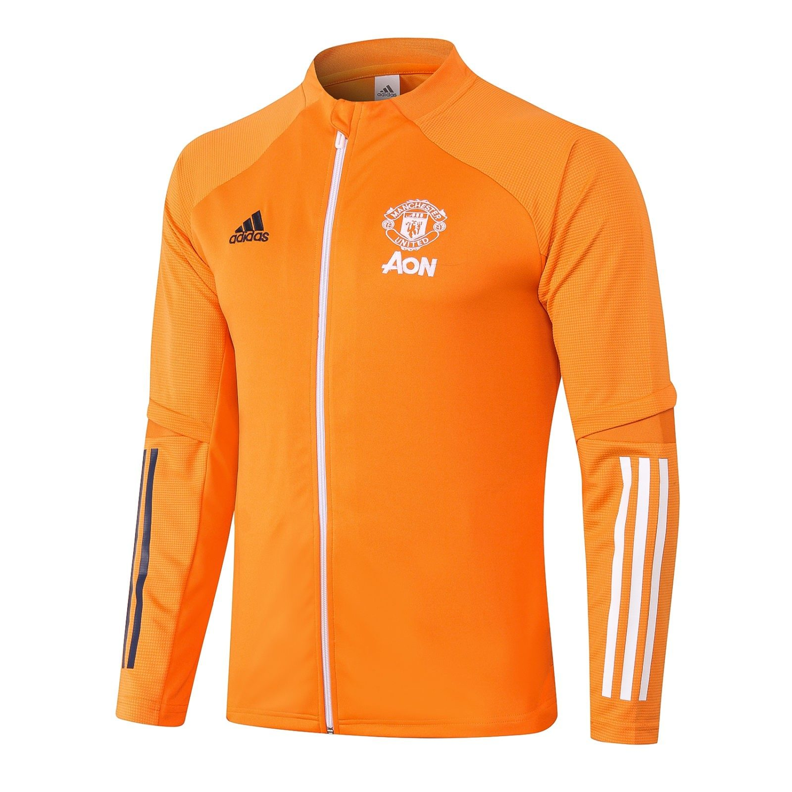 Олимпийка Манчестер Юнайтед сезон 2020-2021 (Оранжевая)