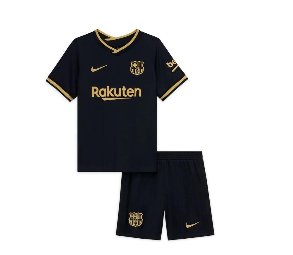 Детская выездная форма Барселоны сезон 2020-2021
