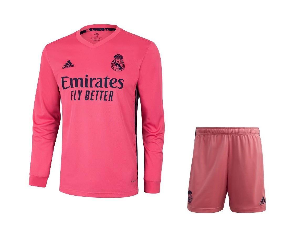 Выездная форма Реал Мадрид с длинным рукавом сезон 2020-2021