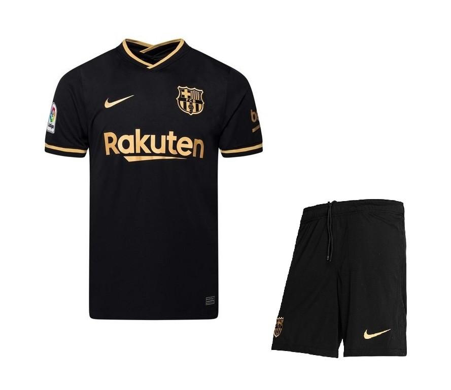 Выездная форма Барселоны сезон 2020-2021