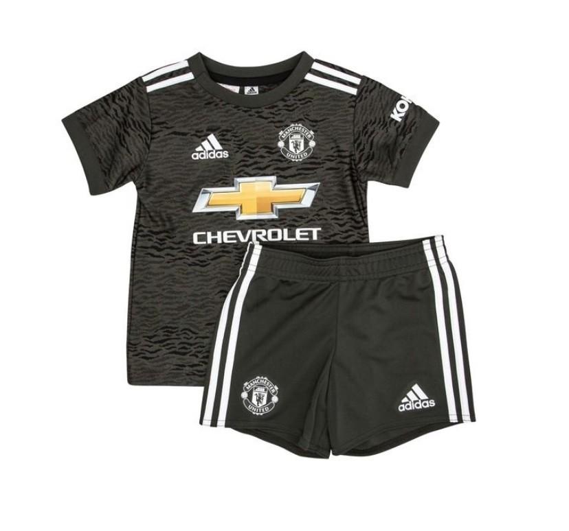 Детская выездная форма Манчестер Юнайтед сезон 2020-2021
