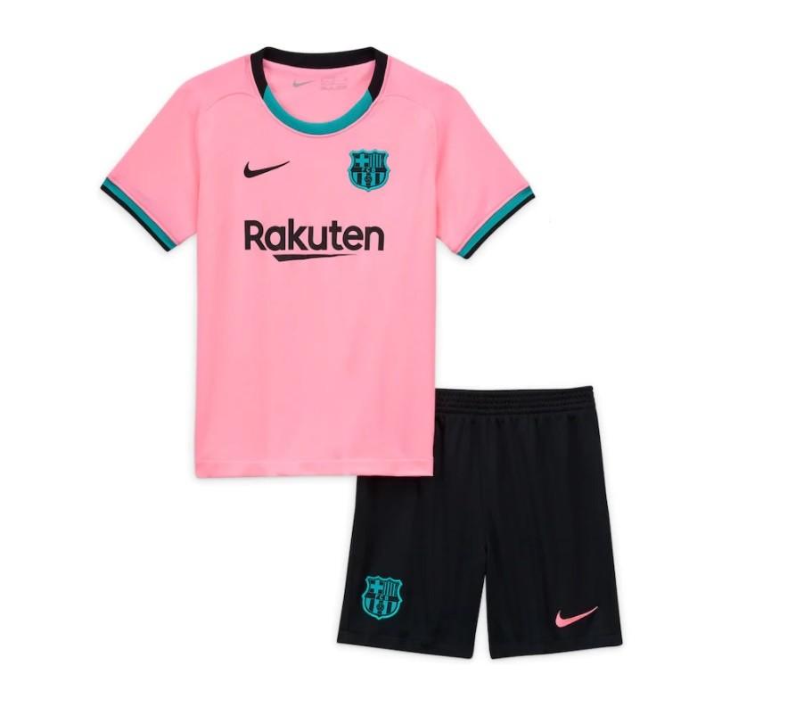 Детская резервная форма Барселоны сезон 2020-2021