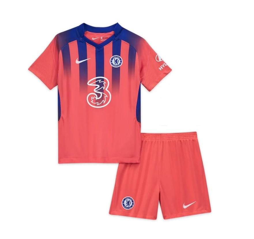 Детская резервная форма Челси сезон 2020-2021