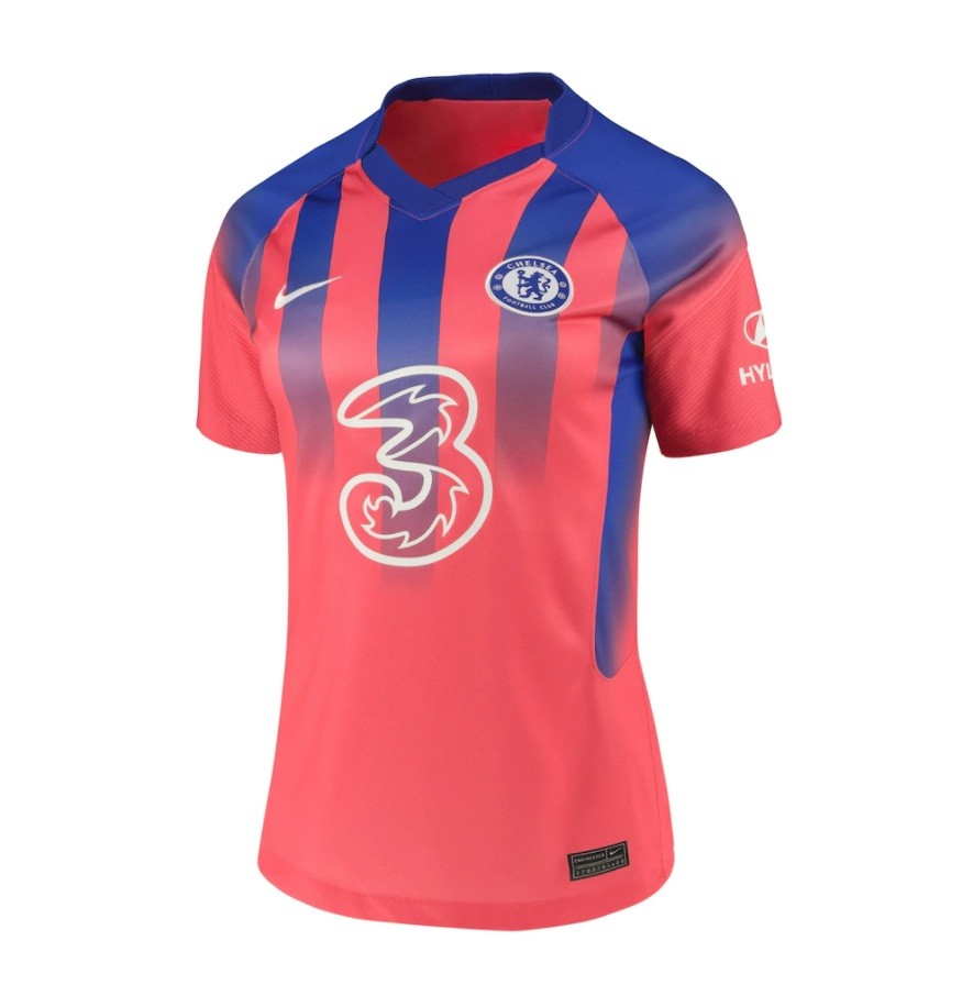 Женская резервная футболка Челси сезон 2020-2021