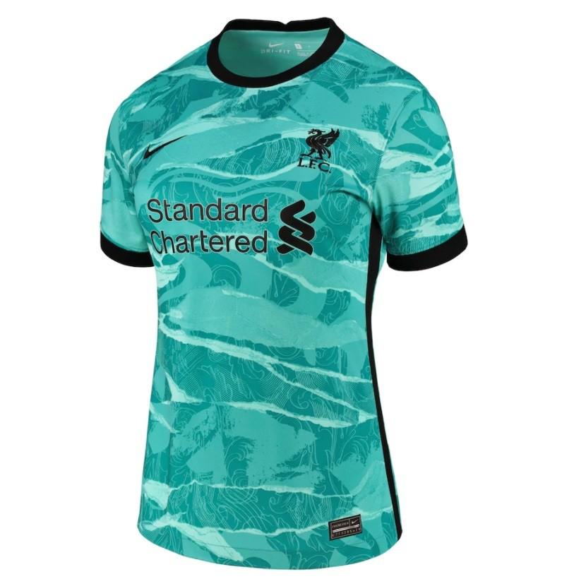 Женская выездная футболка Ливерпуля сезон 2020-2021
