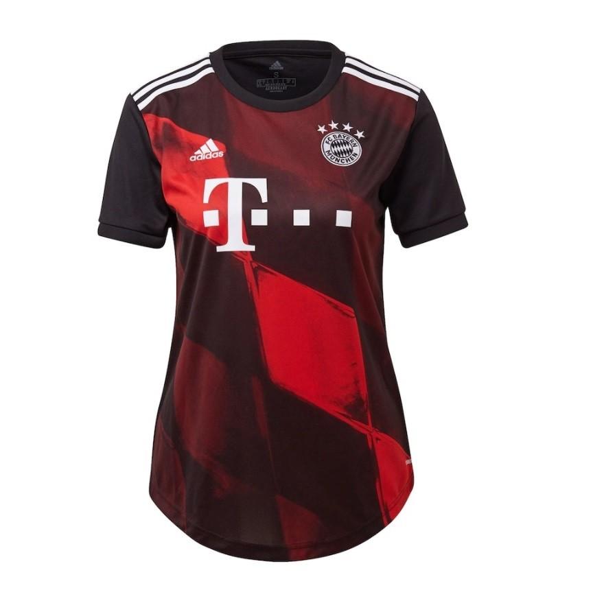 Женская резервная футболка Баварии Мюнхен сезон 2020-2021